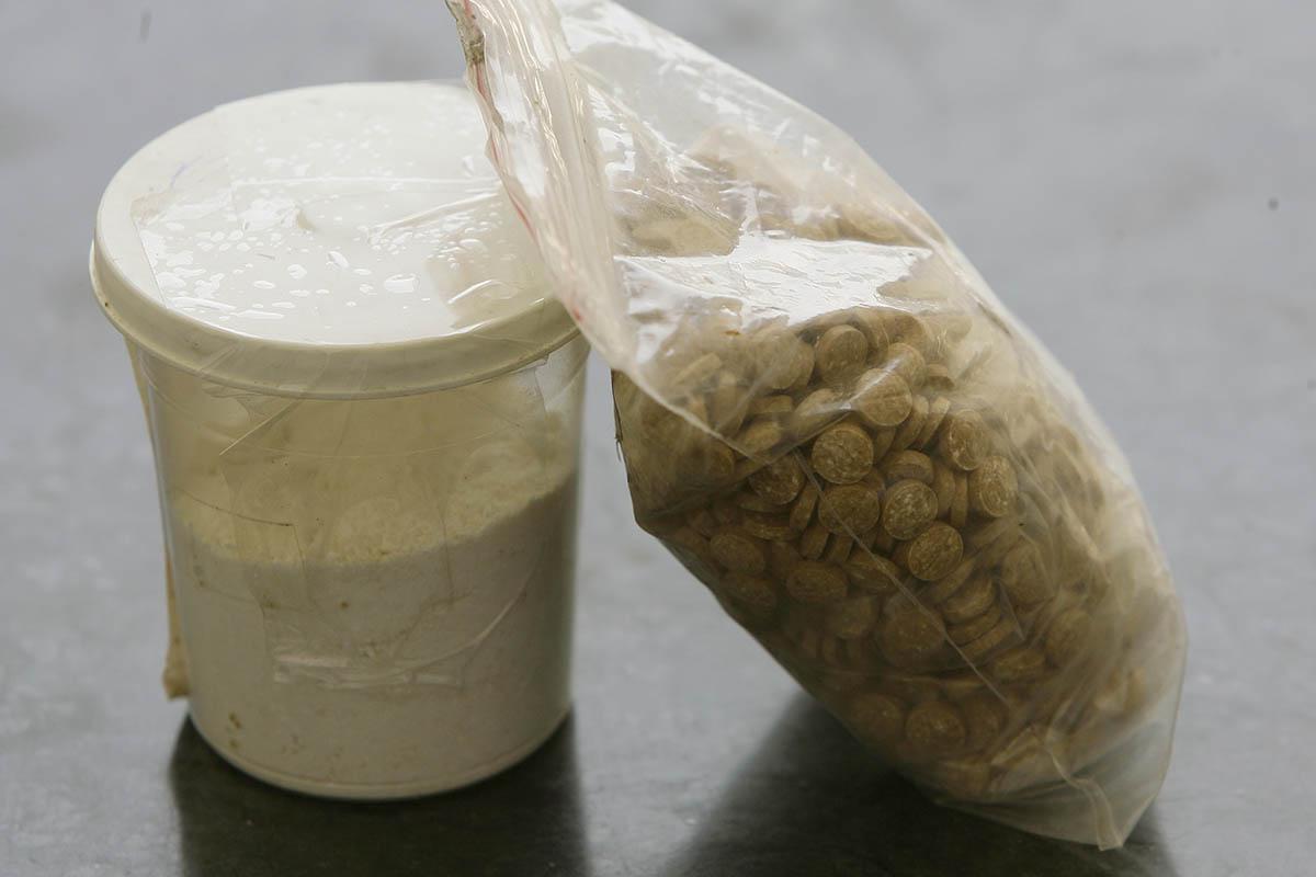 Captagon pills (Picture: AFP/Getty Images)