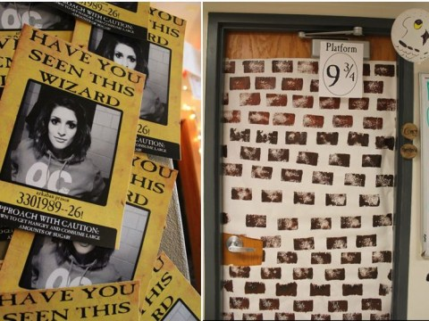 Super-cute husband throws his wife an epic Harry Potter birthday party