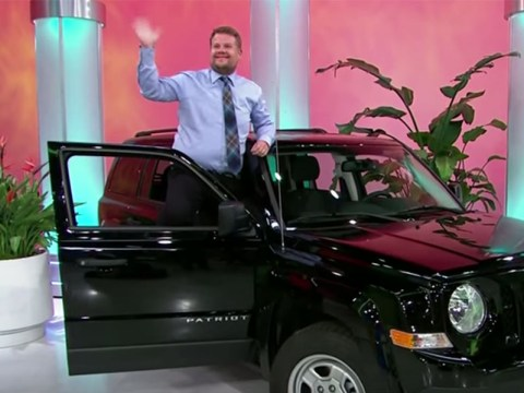 James Corden became a model on The Price Is Right and totally stole the show