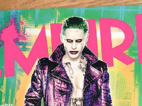 Jared Leto's full Joker costume for Suicide Squad revealed just in time for Halloween
