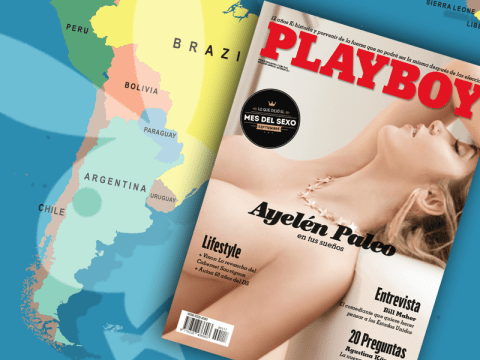Playboy Argentina in naked revolt over nude pictures policy