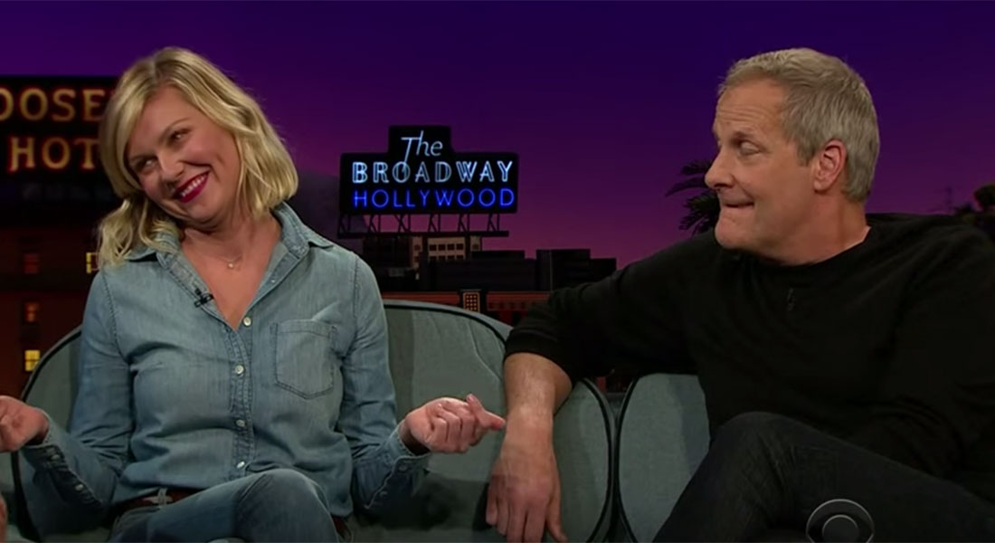 Kirsten Dunst totally did the Bring It On cheers on The Late Late Show with James Corden