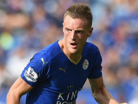 Leicester City striker Jamie Vardy now has as many goals as Liverpool this season after scoring v Norwich