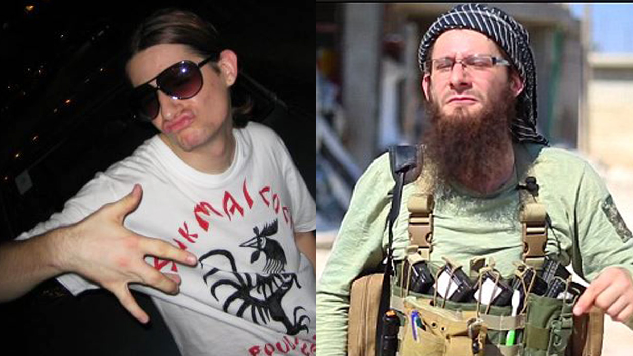 This is the new face of al Qaeda in Syria – a Hollywood director's British son