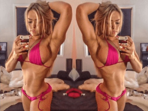This is what it looks like if you work out for four hours a day