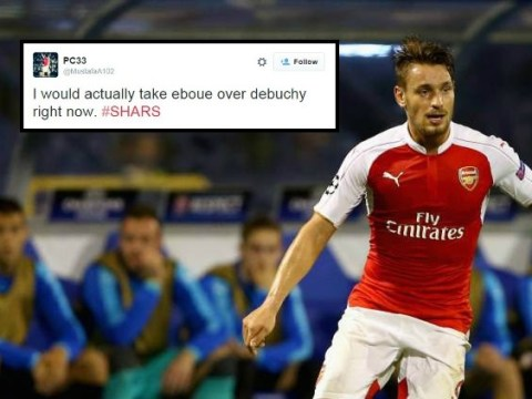 Arsenal fans actually want Emmanuel Eboue back after Mathieu Debuchy's performance v Sheffield Wednesday
