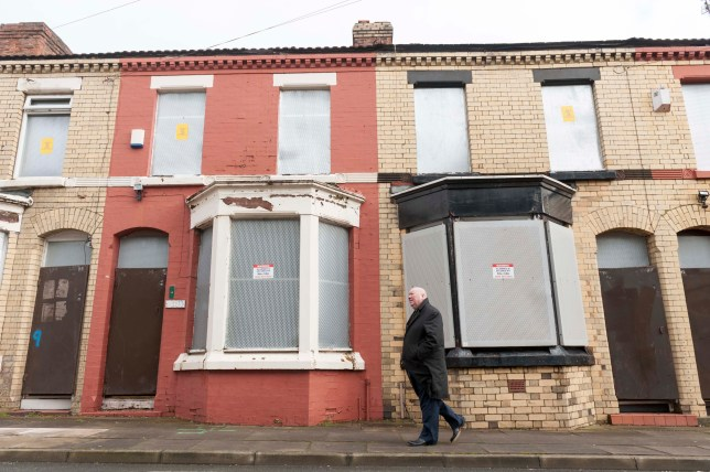Homes for a Pound scheme, Wavetree in Liverpool featuring Mayor of Liverpool Joe Anderson