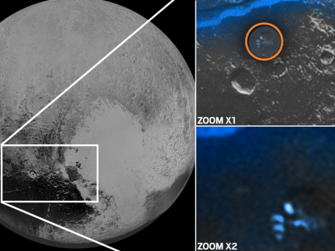 Spaceship full of really angry aliens is spotted on Pluto by NASA probe