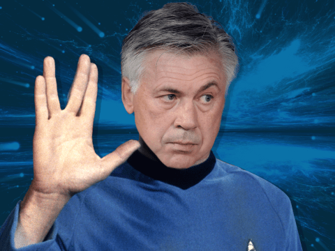 Carlo Ancelotti has a cameo role in the next Star Trek movie, say reports in Italy