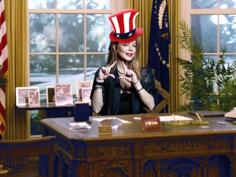 Lindsay Lohan now wants to run for president in 2020, forgets she'll only be 34