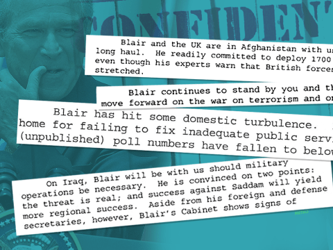 'Smoking gun' memo shows Tony Blair agreed to military action a whole year before Iraq invasion