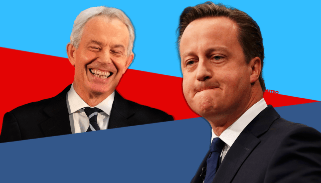 Who said this? Blair or Cameron? Source: getty images Credit: METRO/mylo
