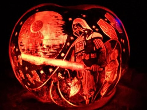 These are not jack-o-lanterns, these are works of art