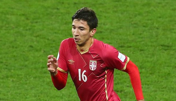 Marko Grujic is being tracked by Chelsea and Manchester United (Picture:Getty)