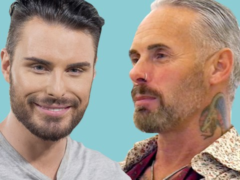 Everyone is going mad for Rylan Clark's 'dad' lookalike on Celebrity First Dates