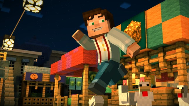Game Review Minecraft Story Mode Builds A New Adventure Metro News