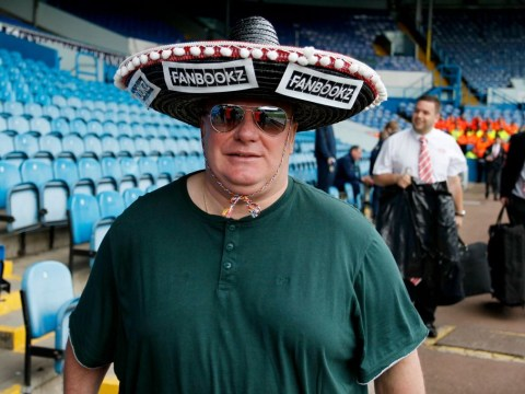 Steve Evans forced to make DIY training kit because Leeds don't have tracksuits big enough to fit him
