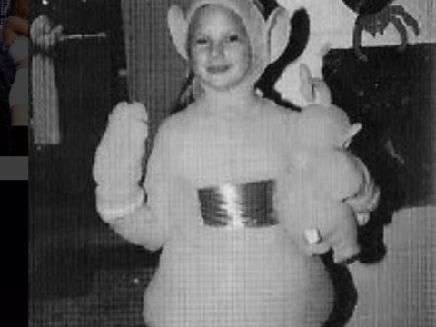 Here's baby Taylor Swift dressed as a Teletubby and it's actually quite sweet