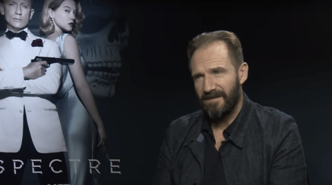 Watch: Ralph Fiennes tells journalist to 'f**k off' during Spectre interview
