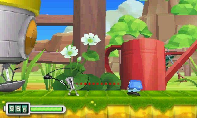 Chibi-Robo! Zip Lash (3DS) - Mario's job is not at risk