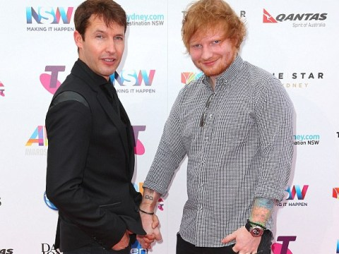 Sorry ladies! Ed Sheeran and James Blunt announced their engagement at the Arias