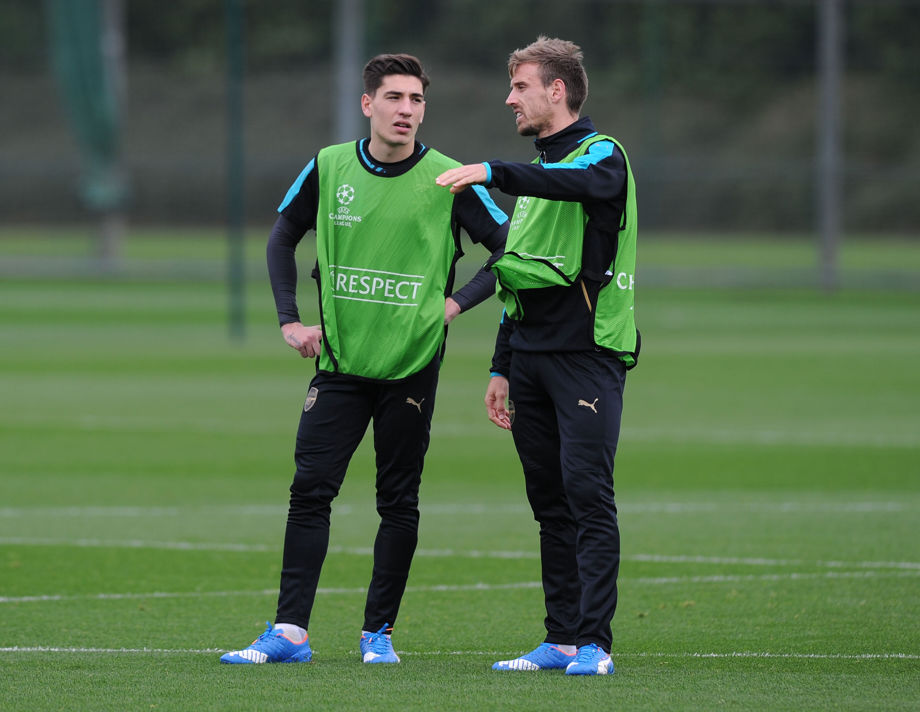 Hector Bellerin plays 'like a guy who is 30', says Arsenal team-mate Nacho Monreal