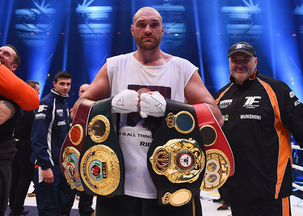 Tyson Fury defeated Wladimir Klitschko to become new World Heavyweight Champion (Picture: Lars Baron/Bongarts/Getty Images)
