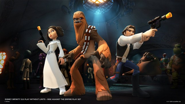 Star Wars: Rise Against The Empire - the Force is child-friendly in this one