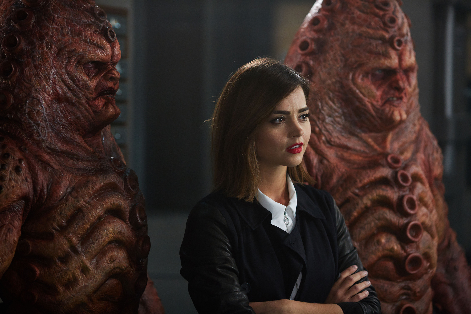 Doctor Who, INVERSION OF THE ZYGONS By Peter Harness and Steven Moffat starring Jenna Coleman