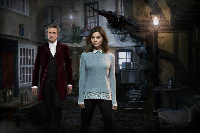 WARNING: Embargoed for publication until 00:00:01 on 15/11/2015 - Programme Name: Doctor Who - TX: 21/11/2015 - Episode: FACE THE RAVEN (By Sarah Dollard) (No. 10) - Picture Shows: ***EMBARGOED UNTIL 00:01hrs SUNDAY 15th DEC 2015*** Doctor Who (PETER CAPALDI), Clara (JENNA COLEMAN) - (C) BBC - Photographer: Simon Ridgway