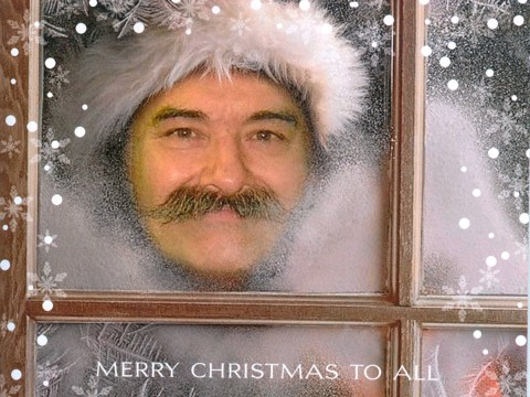 Would you like to receive one of Charles Bronson's Christmas cards?