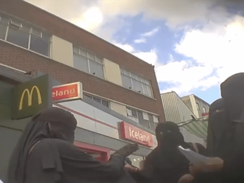 Cell of UK female extremists filmed encouraging young girls to join Isis in Syria