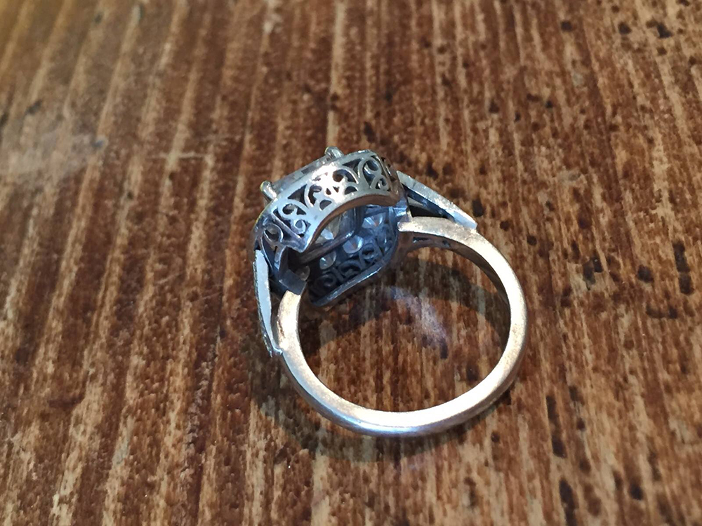 The ring could be worth up to £80,000 (Picture: Facebook/Andrew Samuels)