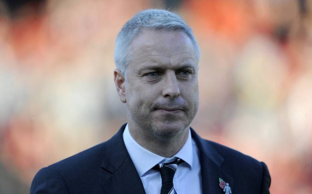 BRISTOL, ENGLAND - OCTOBER 31: Fulham Manager Kit Symons during the Sky Bet Championship match between Bristol City and Fulham at Ashton Gate on October 31, 2015 in Bristol, England. (Photo by Harry Trump/Getty Images)