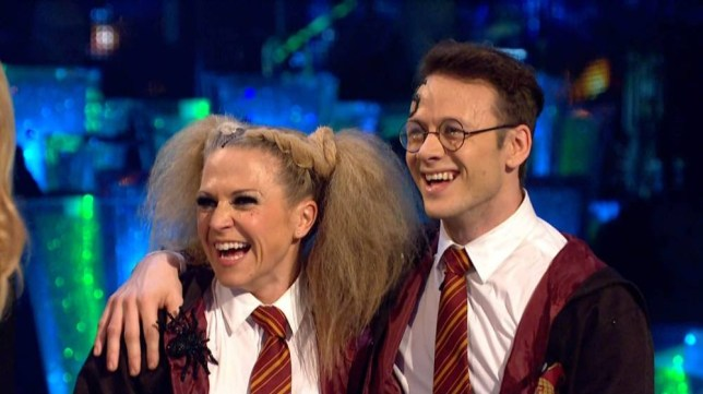 "31-10-2015 TV show ""Strictly Come Dancing"" Series 13 Week 6 -Halloween special Pictured:Kellie Bright and Kevin Clifton PLANET PHOTOS www.planetphotos.co.uk info@planetphotos.co.uk +44 (0)20 8883 1438"