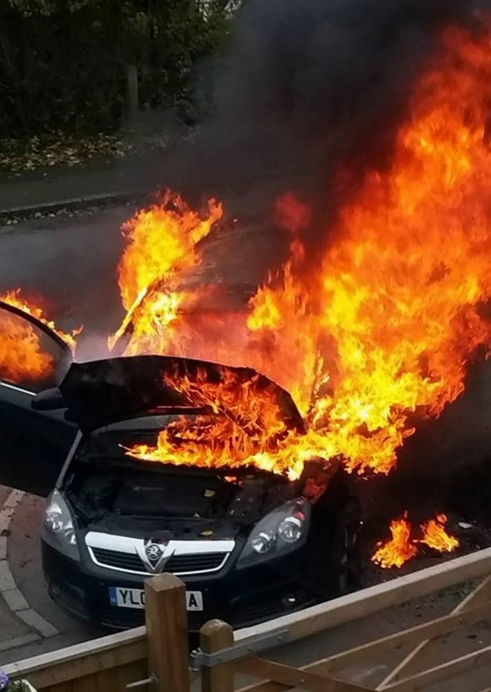 Vauxhall recalls 220,000 Zafira B cars after 130 reports of fires breaking out behind the glove box