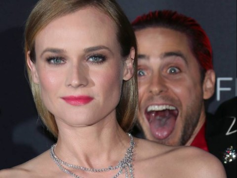 Jared Leto is photobombing unsuspecting celebrities again