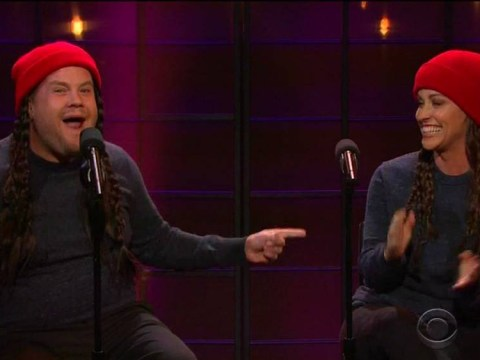 Alanis Morisette gives Ironic a modern update with James Corden and it's amazing