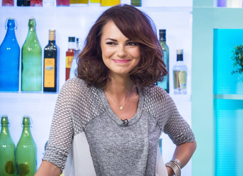 EDITORIAL USE ONLY / NO MERCHANDISING.. Mandatory Credit: Photo by Steve Meddle/REX Shutterstock (3217032d).. Kara Tointon.. 'Sunday Brunch' TV Programme, London, Britain. - 20 Oct 2013.. ..