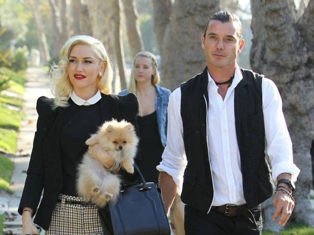 Nanny Mindy Mann with Gavin Rossdale and Gwen Stefani on Thanksgiving 2012. Mann, who reportedly had an affair with Rossdale, walked behind the couple as they went to Gwen's mother's home on November 22, 2012 <P> Pictured: Nanny Mindy Mann, Gavin Rossdale and Gwen Stefani <B>Ref: SPL1174654 111115 </B><BR /> Picture by: Brian Lindensmith / Splash News<BR /> </P><P> <B>Splash News and Pictures</B><BR /> Los Angeles: 310-821-2666<BR /> New York: 212-619-2666<BR /> London: 870-934-2666<BR /> photodesk@splashnews.com<BR /> </P>