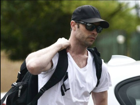 Oscar Pistorius reports for first day of community service