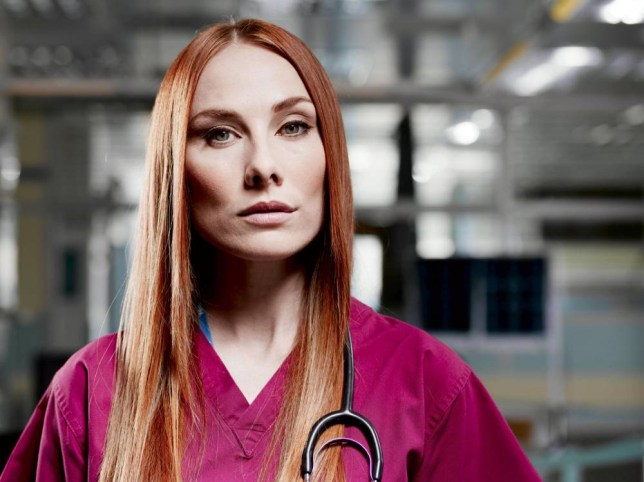 Television Programme: Holby City with Rosie Marcel as Jac. Programme Name: Holby City - TX: 20100101 - Episode: n/a (No. n/a) - Picture Shows: - (C) BBC - Photographer: DANIEL CLERIHEW