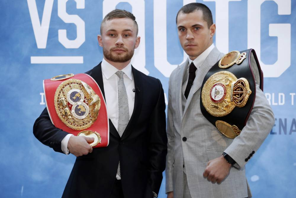 Carl Frampton vows to knock out Scott Quigg and win all-British world title unification fight