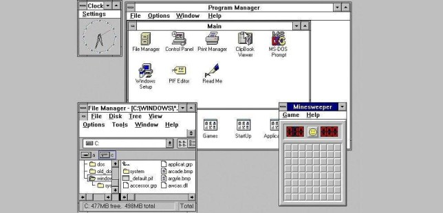 Flights grounded by problems caused by Windows 3.1 Source: Microsoft/Windows