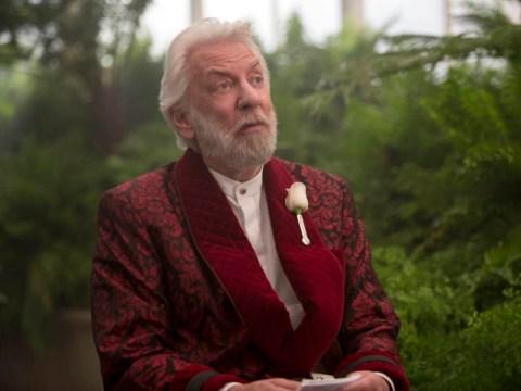 Hunger Games: Mockingjay – Part 2 star Donald Sutherland: 'I hope the Hunger Games films spark a revolution'