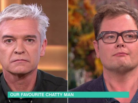 Alan Carr got drunk on tequila live on This Morning and forgot the name of his show