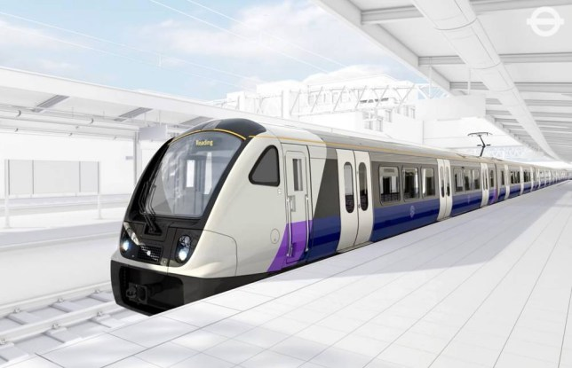 Undated handout artist's impression of the trains that will run on the UK's largest rail project, Crossrail. PRESS ASSOCIATION Photo. Issue date: Friday November 20, 2015. The fully wheelchair-accessible, air-conditioned and wi-fi enabled trains, which are being built by Bombardier Transportation's UK factory in Derby, will have space for 1,500 customers in nine walk-through carriages. Each will be more than 200 metres long. See PA story TRANSPORT Crossrail. Photo credit should read: TFL/PA Wire NOTE TO EDITORS: This handout photo may only be used in for editorial reporting purposes for the contemporaneous illustration of events, things or the people in the image or facts mentioned in the caption. Reuse of the picture may require further permission from the copyright holder.