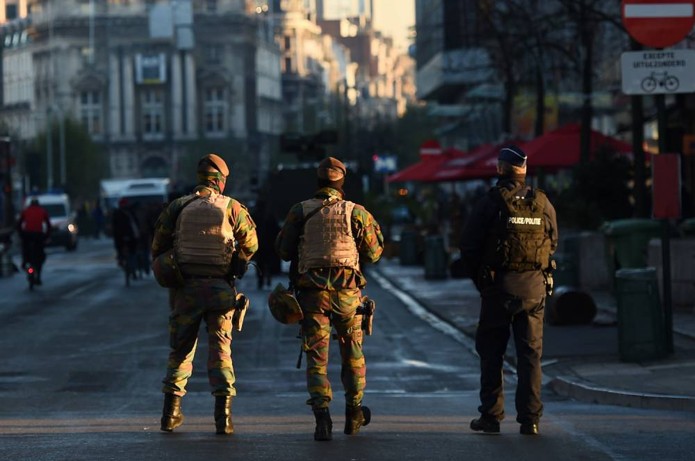 Belgian soldiers 'had an orgy in the middle of the Brussels lockdown'