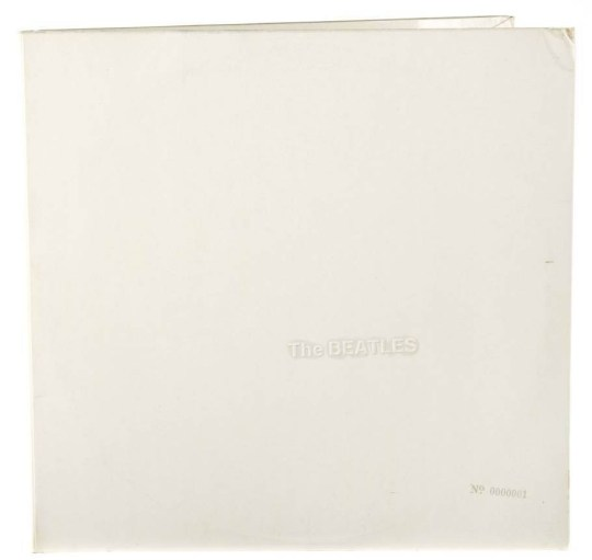 "CREDIT: Julien's Auctions/REX Shutterstock. Editorial use only Mandatory Credit: Photo by Julien's Auctions/REX Shutterstock (5430978a) The album covers were numbered in sequence, insuring that this No.0000001 sleeve is the very first finished cover Ringo Starr's first numbered edition of Beatles White Album for auction, Los Angeles, America - Nov 2015 Ringo Starr is to auction the first ever copy of The Beatles self-titled 1968 album, also know as the White Album. Beverly Hills-based Julien's Auctions estimates the record will sell for up to $60,000 (GBP 40,000) at the December 3-5 auction. The numbered copy of the LP was rumoured to be John Lennon's who, according to Paul McCartney, ""shouted the loudest"" for it when the band decided to have the copies numbered. It has been widely known among collectors that the four members of the Beatles kept numbers 1 through 4, but it was not commonly known that Starr was given the No.0000001 album. Starr has stated that he kept this album in a bank vault in London for over 35 years. Copy No. 0000005 sold at an auction in 2008 for a little less than $30,000 (GBP 20,000). All proceeds of the sale will go to the Lotus Foundation, which was founded by Starr and his wife, Barbara Bach."