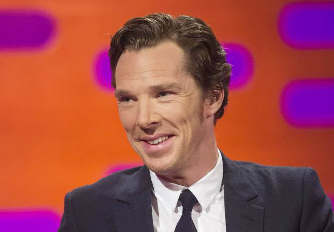 Benedict Cumberbatch during filming of the Graham Norton Show at The London Studios, south London ahead of its BBC1 transmission on Friday November 27, 2015. PRESS ASSOCIATION Photo. Picture date: Sunday October 11, 2015. Photo credit should read: PA Images on behalf of So TV